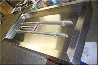 Custom Stainless Steel Box Pan