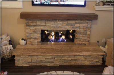 Darrel Kelley Fireplace Remodel